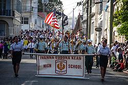 Ivanna Eudora Kean High School JROTC.  Veteran's Day Parade and Program at the Frankliin Delano Roosevelt Memorial Park in Charlotte Amalie.  St. Thomas.  11 November 2013.  © Aisha-Zakiya Boyd