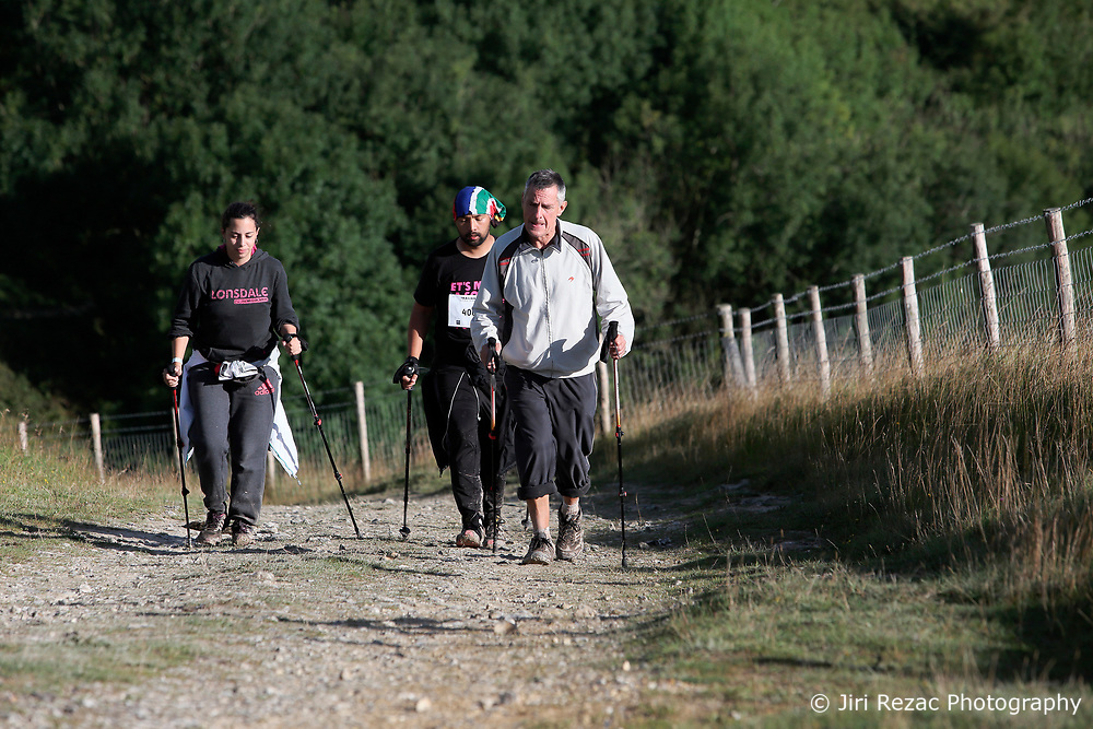 UK ENGLAND 30JUL17 - Hikers tackle the last major slope past checkpoint 8 during the Trailwalker 2017 challenge across the South Downs, England.<br /> <br /> jre/Photo by Jiri Rezac<br /> <br /> © Jiri Rezac 2017