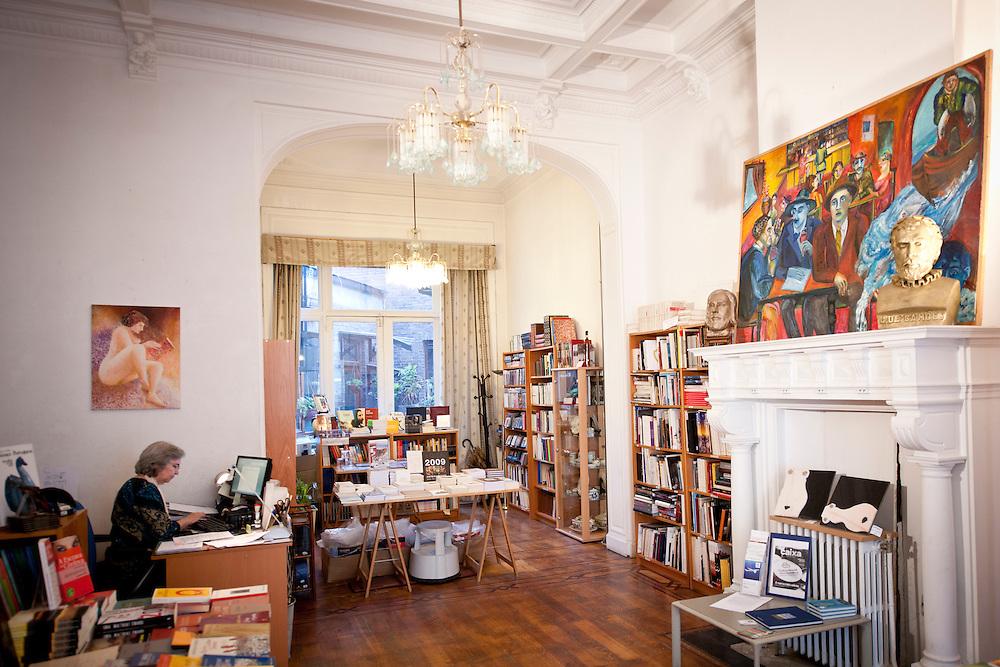 Bruxelles, Belgique 30 Septembre 2011<br /> Librairie en langue lusitaine Orfeu - Il y a des livres d'auteurs br&eacute;siliens<br /> Photo: Ezequiel Scagnetti