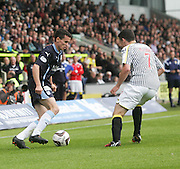 Dundee's Paul McGinn and St Mirren's John McGinn - St Mirren v Dundee, SPFL Premiership at St Mirren Park<br /> <br />  - &copy; David Young - www.davidyoungphoto.co.uk - email: davidyoungphoto@gmail.com