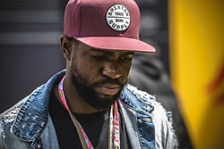 May 13, 2018 - Barcelona, Catalonia, Spain - FC Barcelona's defender UMTITI walks through the paddock prior the Spanish GP at Circuit de Barcelona - Catalunya (Credit Image: © Matthias Oesterle via ZUMA Wire)