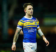 Richie Myler of Leeds Rhinos during the Betfred Super League match at Emerald Headingley Stadium, Leeds<br /> Picture by Stephen Gaunt/Focus Images Ltd +447904 833202<br /> 08/03/2018