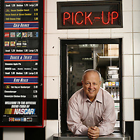 Jan 25, 2007; Tampa, FL, USA:..Checkers CEO Keith Sirois poses at one of his Tampa restaurants..Photo by Preston Mack / Redux