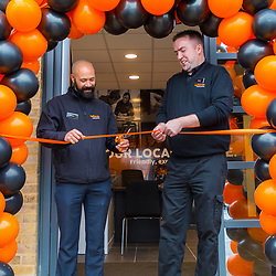Opening of Halfords Autocentre in Sidcup, Kent. Sidcup, Kent, May 08 2019.