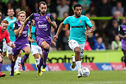Forest Green Rovers Reuben Reid(26) runs forward during the EFL Sky Bet League 2 match between Forest Green Rovers and Port Vale at the New Lawn, Forest Green, United Kingdom on 8 September 2018.