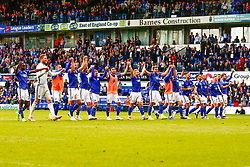 Ipswich Town players at the final whistle - Mandatory by-line: Phil Chaplin/JMP - 28/09/2019 - FOOTBALL - Portman Road - Ipswich, England - Ipswich Town v Tranmere Rovers - Sky Bet Championship