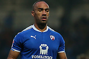Chesterfield forward Chris O'Grady during the EFL Sky Bet League 2 match between Chesterfield and Luton Town at the Proact stadium, Chesterfield, England on 13 January 2018. Photo by Aaron  Lupton.