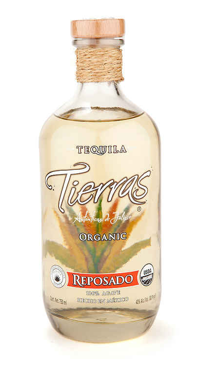 Tierras Organic Reposado Tequila -- Image originally appeared in the Tequila Matchmaker: http://tequilamatchmaker.com