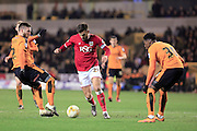 Marlon Pack during the Sky Bet Championship match between Wolverhampton Wanderers and Bristol City at Molineux, Wolverhampton, England on 8 March 2016. Photo by Daniel Youngs.