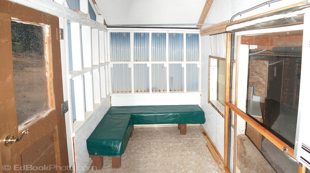 Mount Tahoma Trails Association - The Yurt mudroom ready for the 2010-11 snow season.