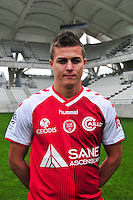 Nicolas De Preville - 21.10.2014 - Photo officielle Reims - Ligue 1 2014/2015<br /> Photo : Philippe Le Brech / Icon Sport