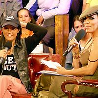 Mexico, D.F.- Anabella conversa con Veronica Castro la noche de ayer al ser expulsada de la casa del reality show Big Brother en su tercera edicion. Agencia MVT / Televisa. (DIGITAL)<br /><br />NO ARCHIVAR - NO ARCHIVE