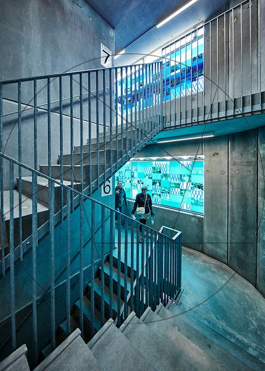 """Bispebjerg Hospital, Frederiksberg, indvielse af Parkeringshus med kunst af Malene Nor Tadrup """"Længe er ikke evigt"""""""