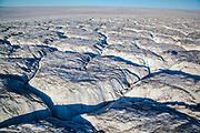 Sermersuaq or Humboldt Glacier, in Kane Basin, northwest Greenland, is the Northern Hemisphere's widest tidewater glacier spanning 110km at its front.