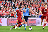May 24, 2017: Sydney FC George Blackwood (19) at the soccer match, between English Premiere League team Liverpool FC and Sydney FC, played at ANZ Stadium in Sydney, NSW Australia.