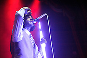 Photos of Travie McCoy performing on the Too Fast for Love Tour at the Uptown Theater in Kansas City on May 19, 2010.