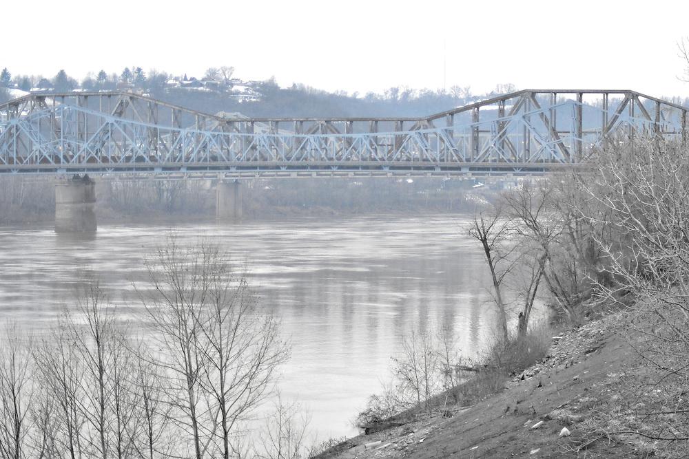 Bridge in Cincinnati, Ohio.