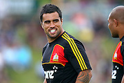 Chiefs' Liam Messam. Super 15 rugby union match, Pre-Season, Chiefs v Hurricanes at Owen Delany Park, Taupo, New Zealand. Friday 17th February 2012. Photo: Anthony Au-Yeung / photosport.co.nz