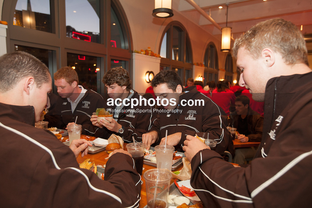 2012 October 20: The San Francisco Lacrosse classic featuring Lehigh Mountain Hawks and the Ohio State Buckeyes.