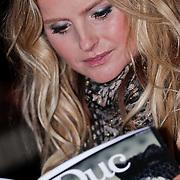 NLD/Amsterdam/20110201 - Presentatie van licht erotisch magazine Le Duc, Fatima Moreira de Melo
