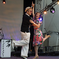 Paolo Lanna and Lainey (dance instructors)