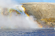 Excelsior Geyser Crater runoff, Yellowstone National Park