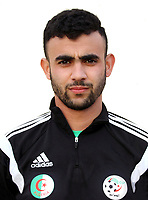 Confederation of African Football - World Cup Fifa Russia 2018 Qualifier / <br /> Algeria National Team - Preview Set - <br /> Rachid Ghezzal