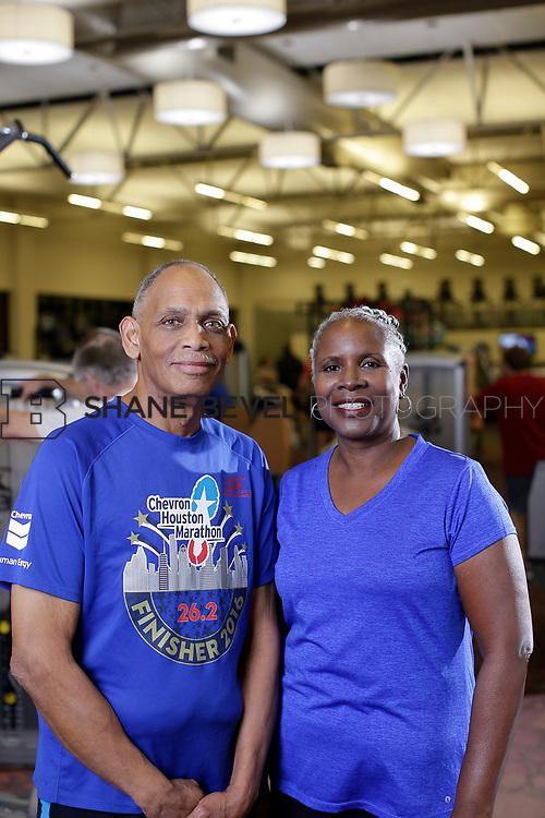11/8/17 7:15:36 PM --  Charles and Shonda at Healthzone at SFHS. <br /> <br /> Photo by Shane Bevel