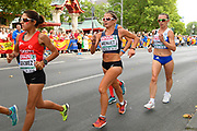 Emilie Menuet (FRA) competes in 20km Race Walk Women during the European Championships 2018, at Olympic Stadium in Berlin, Germany, Day 5, on August 11, 2018 - Photo Julien Crosnier / KMSP / ProSportsImages / DPPI