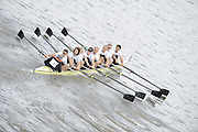 Chiswick, London, GREAT BRITAIN,  Molesey BC. starting the the race, looking from Chiswick Bridge. 2011 Head of the River Race. Mortlake to Putney,  Championship Course River Thames on Saturday  02/04/2011  [Mandatory Credit, Peter Spurrier/Intersport-images]