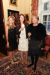 A party to promote the exclusive Puntacana Resort & Club - the Caribbean's Premier Golf & Beach Resort Destination, was held at Spencer House, London on 13th May 2010.<br /> <br /> Picture shows:-Left to right, LAUREN SCOTT, JENNA SCOTT and JAN SCOTT