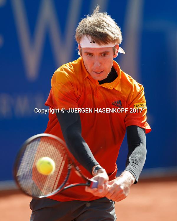 CEDRIK-MARCEL STEBE (GER)<br /> <br /> Tennis - BMW Open2017 -  ATP  -  MTTC Iphitos - Munich -  - Germany  - 2 May 2017.