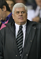 LIVERPOOL, ENGLAND - Wednesday, October 31, 2007: Cardiff City's chairman and owner Peter Risdale during the League Cup 4th Round match at Anfield. (Photo by David Rawcliffe/Propaganda)