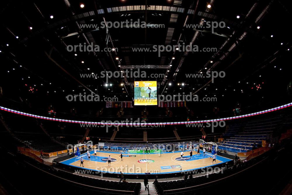 Arena Kauno at FIBA Europe Eurobasket Lithuania 2011, on September 13, 2011, in Kaunas, Lithuania.  (Photo by Vid Ponikvar / Sportida)