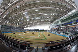 Overview dressage arena<br /> CHI Al Shaqab - Doha 2013<br /> © Dirk Caremans