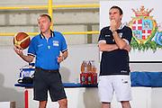 DESCRIZIONE : Cagliari Torneo Internazionale Sardegna a canestro Italia Estonia <br /> GIOCATORE : Giovanni Piccin Carlo Recalcati <br /> SQUADRA : Nazionale Italia Uomini Italy <br /> EVENTO : Raduno Collegiale Nazionale Maschile <br /> GARA : Italia Estonia Italy Estonia <br /> DATA : 13/08/2008 <br /> CATEGORIA : Ritratto <br /> SPORT : Pallacanestro <br /> AUTORE : Agenzia Ciamillo-Castoria/S.Silvestri <br /> Galleria : Fip Nazionali 2008 <br /> Fotonotizia : Cagliari Torneo Internazionale Sardegna a canestro Italia Estonia <br /> Predefinita :