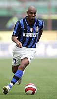 """Milano 16/09/07 Stadio """"Giuseppe Meazza""""<br /> Campionato Italiano Serie A 2007/08<br /> Inter-Catania (2-0)<br /> Douglas Maicon (Inter) <br /> Photographer:Jennifer Lorenzini INSIDE"""