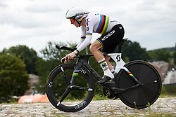 Annemiek van Vleuten (NED) on her way to victory at Boels Ladies Tour 2019 - Prologue, a 3.8 km individual time trial at Tom Dumoulin Bike Park, Sittard - Geleen, Netherlands on September 3, 2019. Photo by Sean Robinson/velofocus.com