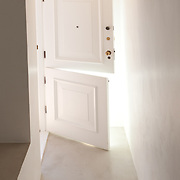 Back-lit residential Dutch door.<br />