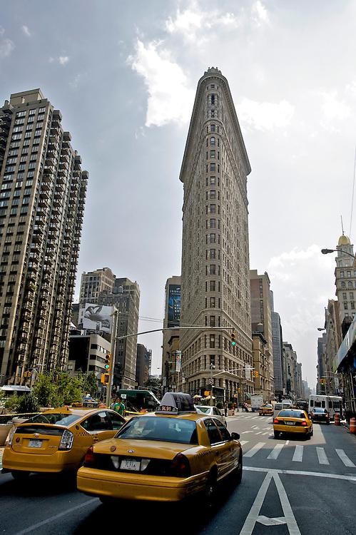 UNITED STATES-NEW YORK-New York City Flatiron Building. PHOTO: GERRIT DE HEUS.VERENIGDE STATEN-NEW YORK. New York City PHOTO GERRIT DE HEUS
