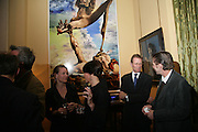 Nicholas Serota, Party for Jean Pigozzi hosted by Ivor Braka to thank him for the loan exhibition 'Popular Painting' from Kinshasa'  at Tate Modern. Cadogan sq. London. 29 May 2007.  -DO NOT ARCHIVE-© Copyright Photograph by Dafydd Jones. 248 Clapham Rd. London SW9 0PZ. Tel 0207 820 0771. www.dafjones.com.