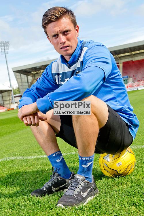 DAFC Presser East End Park 20 August 2015<br /> Joe Cardle<br /> (c) CRAIG BROWN | SportPix.org.uk
