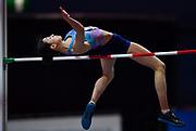 Mariya Lasitskene (RUS) wins the women's high jump atf 6-7 (2.01m) during the IAAF World Indoor Championships at Arena Birmingham in Birmingham, United Kingdom on Thursday, Mar 1, 2018. (Steve Flynn/Image of Sport)