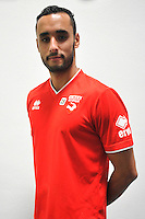 Abdel HISSISSANE - 16.09.2014 - Photo officielle Nimes - Ligue 2 2014/2015<br /> Photo : Icon Sport