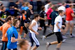 Start at 14th Marathon of Ljubljana, on October 25, 2009, in Ljubljana, Slovenia.  (Photo by Vid Ponikvar / Sportida)