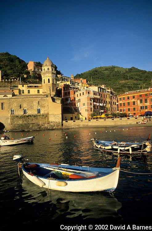 Verrnazza, Cinque Terre,  Liguria, Italy.Mediterranean coast