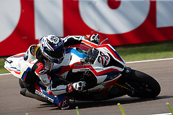 May 10, 2019 - Imola, BO, Italy - Markus Reiterberger of BMW Motorrad WorldSBK Team during the free practice 2 of the Motul FIM Superbike Championship, Italian Round, at International Circuit ''Enzo and Dino Ferrari'', on May 10, 2019 in Imola, Italy  (Credit Image: © Danilo Di Giovanni/NurPhoto via ZUMA Press)