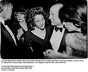 Senator Bob Kerrey, Shirley MacLaine, Debra Winger, Barry Diller and Diane von Furstenberg  at Steve Tisch &  Vanity Fair's Oscar Night Party,<br />
