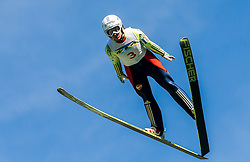 Maja Vtič (SLO) during Ski jumping Summer cup - 45. Revija skokov Mostec on June 4, 2016 in Mostec hill, Ljubljana, Slovenia.Photo by Vid Ponikvar / Sportida