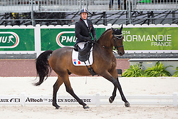 Vladimir Vinchon, (FRA), Rockford 17 - Team Competition Grade III Para Dressage - Alltech FEI World Equestrian Games™ 2014 - Normandy, France.<br /> © Hippo Foto Team - Jon Stroud <br /> 25/06/14